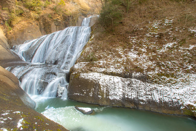 inverno da queda de Fukuroda foto de stock royalty free