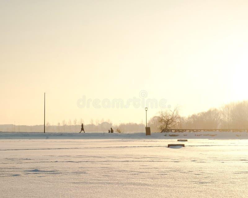 inverno de Butovo Moscou fotos de stock