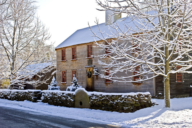Download Inverno de Nova Inglaterra foto de stock. Imagem de estilo - 16861212