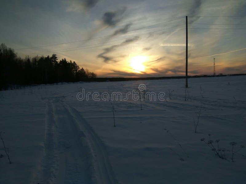 inverno de Rússia imagens de stock royalty free