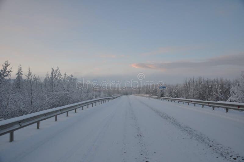 Inverno di Kolyma fotografia stock libera da diritti