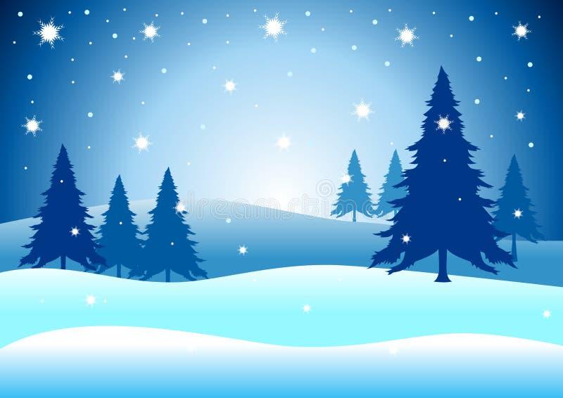 Inverno do Natal ilustração do vetor
