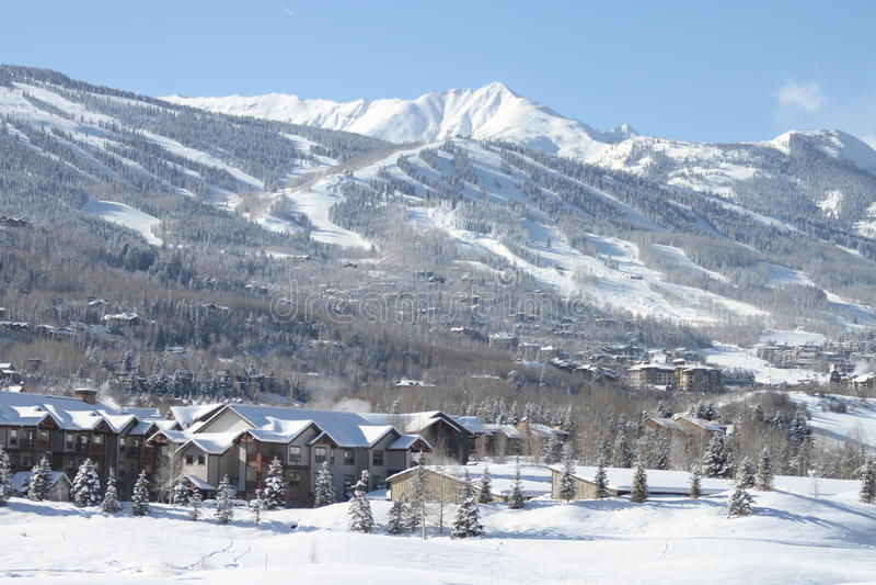 inverno em Aspen imagens de stock