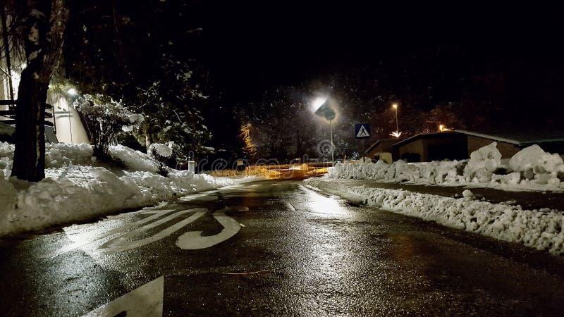 inverno em Bósnia imagens de stock royalty free