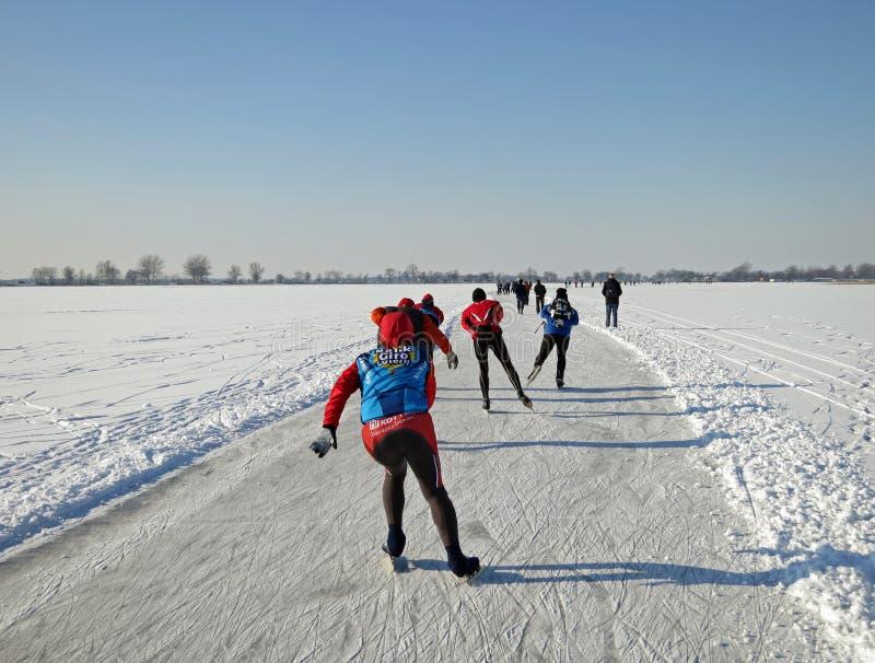 Inverno em Holland foto de stock royalty free