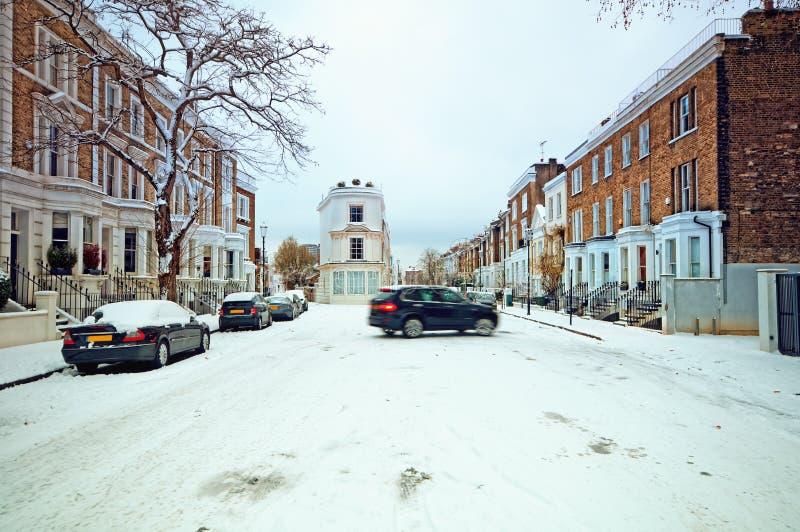 Inverno em Londres. fotografia de stock