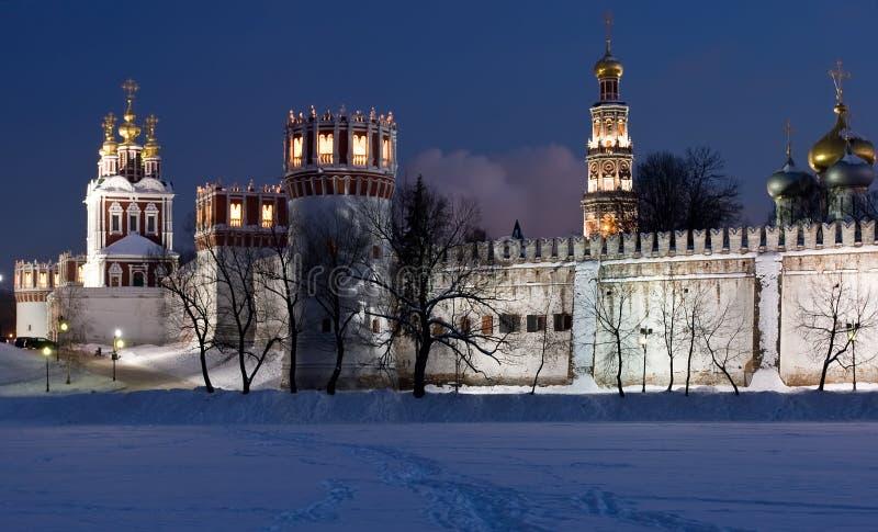 Inverno em Moscovo imagens de stock royalty free