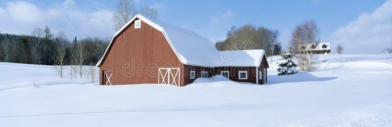 Inverno em Nova Inglaterra, imagem de stock royalty free