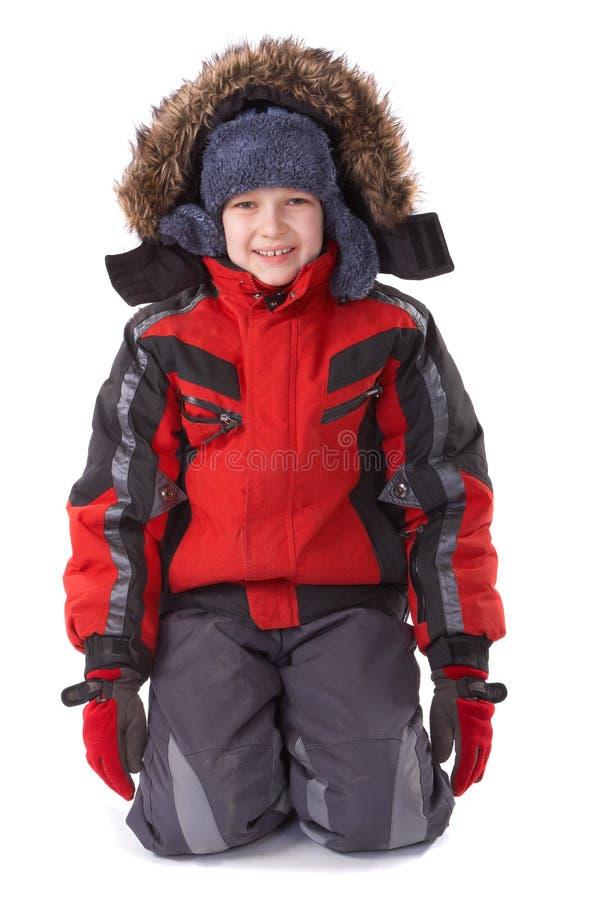 Inverno felice immagine stock libera da diritti