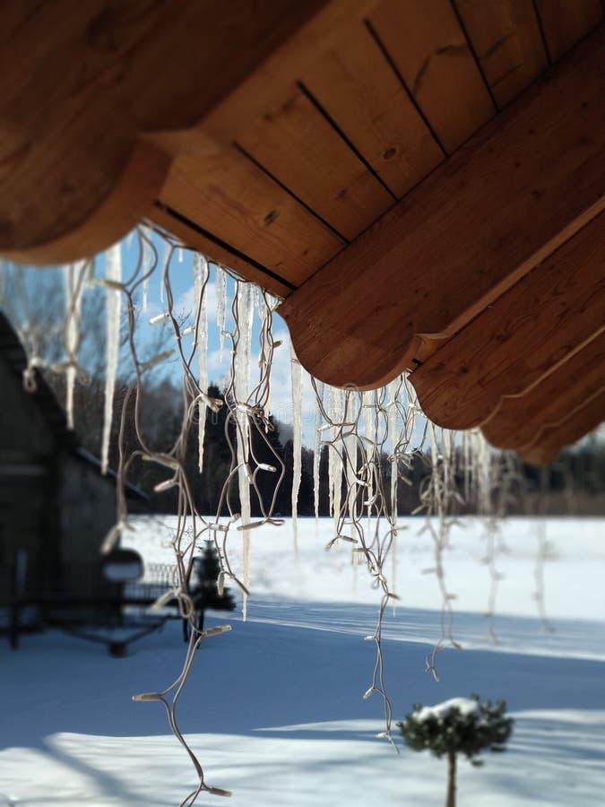 Inverno fora imagens de stock
