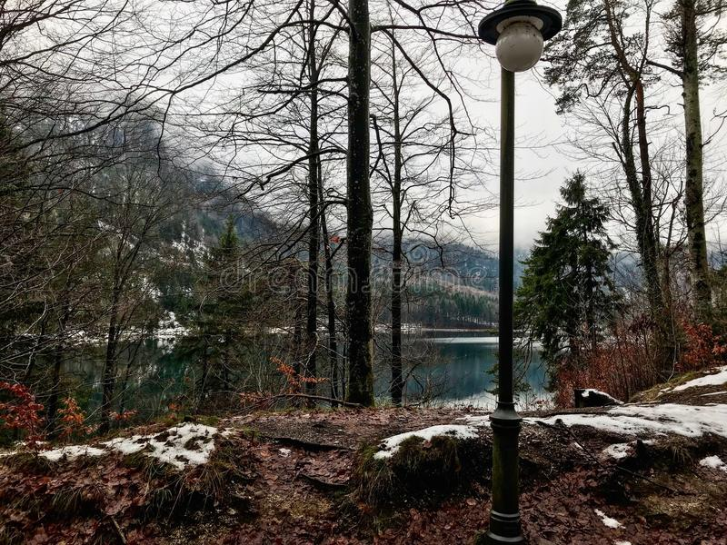 Inverno in Germania immagini stock libere da diritti
