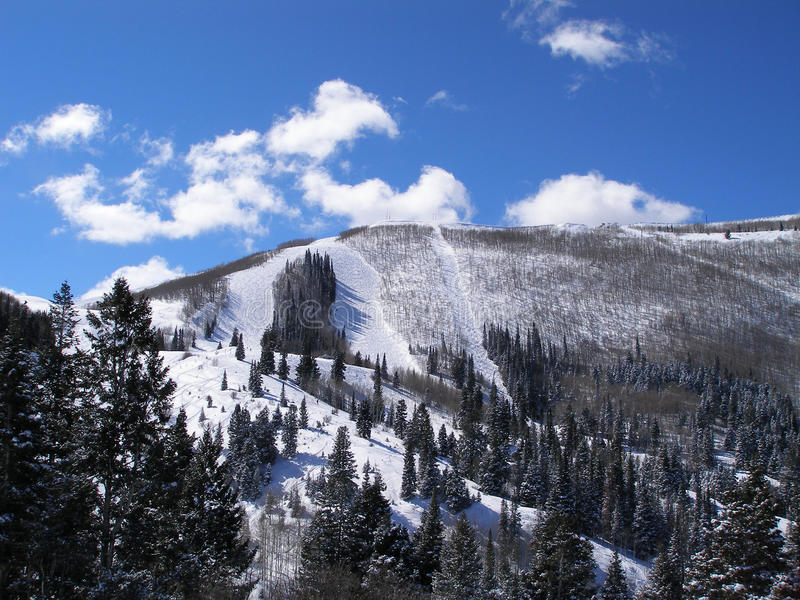 Inverno nelle montagne fotografia stock libera da diritti