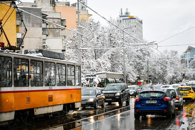 Inverno nevado fotos de stock royalty free