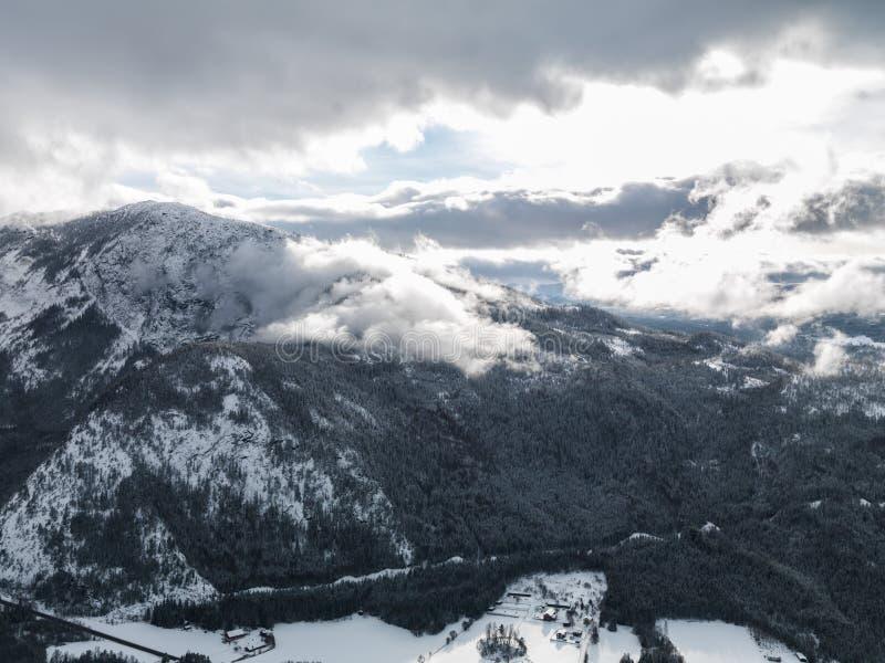 Inverno Norvegia immagini stock libere da diritti