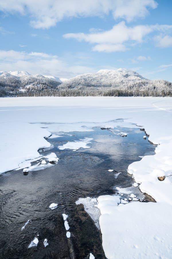 Inverno in Norvegia immagini stock libere da diritti