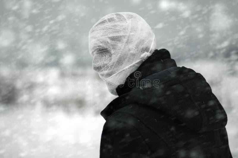 Inverno nucleare fotografie stock libere da diritti
