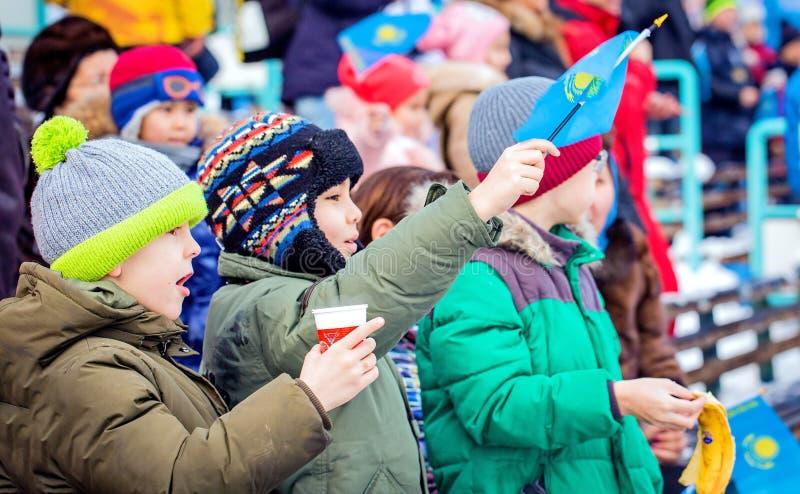 Inverno Universiade fotografia stock