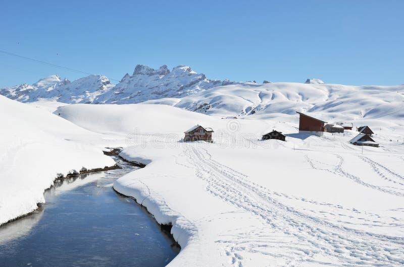Download Melchsee-Frutt. Switzerland Foto de Stock - Imagem de grande, edifício: 29842812