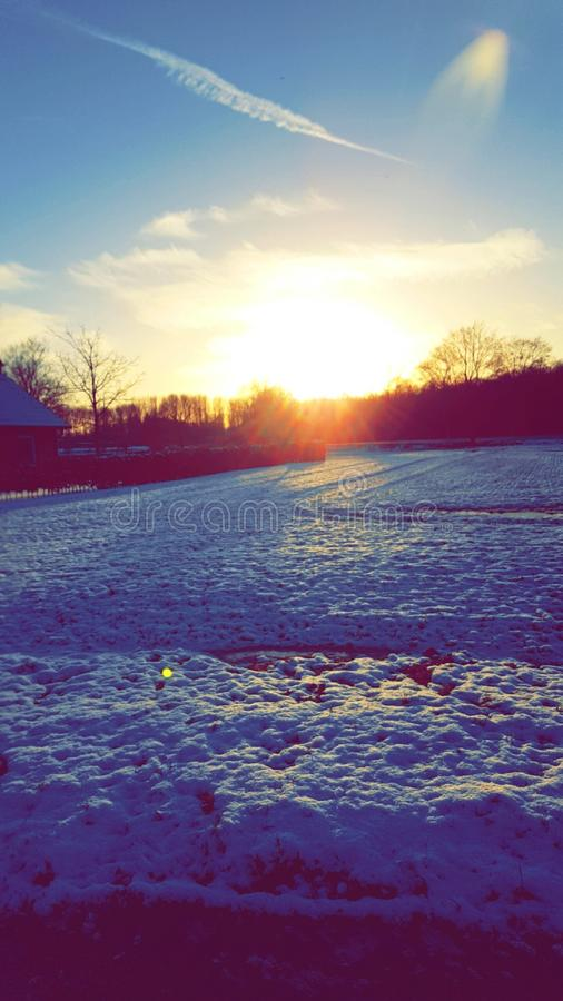 inverno Winderland fotos de stock royalty free