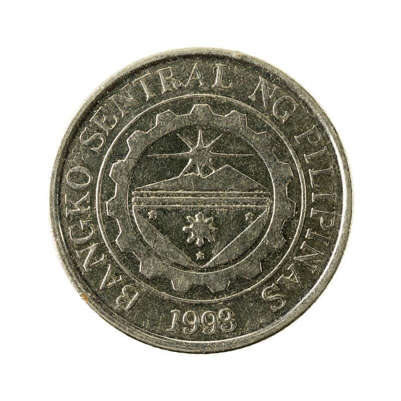 1 inverse de la pièce de monnaie 2012 de peso philippin image stock