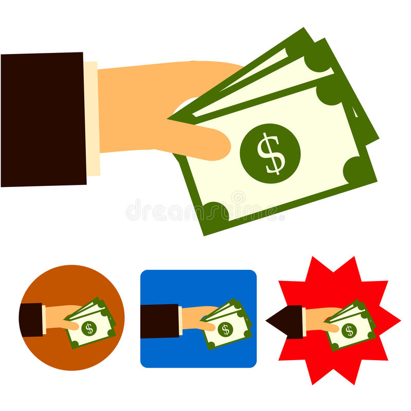 Inversión comercial del trato del banco del dinero foto de archivo