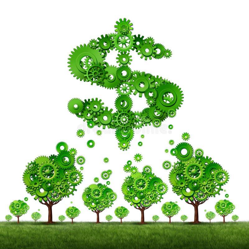 Inversión de Crowdfunding stock de ilustración