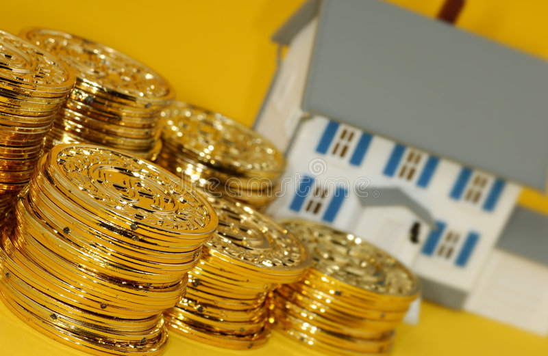 Inversión de propiedades inmobiliarias foto de archivo