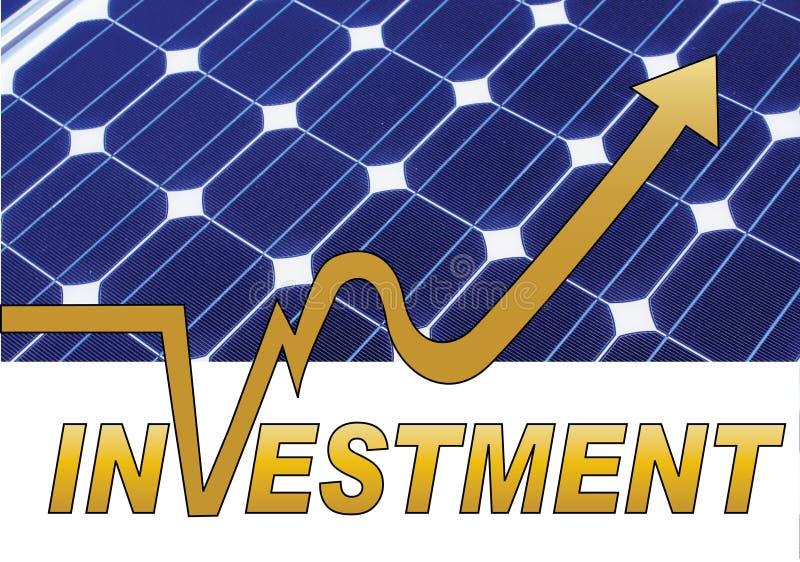 Inversión del panel solar libre illustration