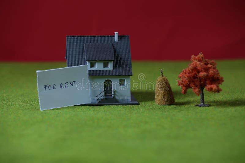 Inversión en propiedades inmobiliarias fotografía de archivo libre de regalías