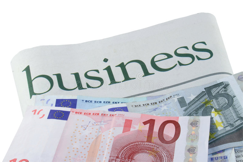 Inversión euro fotos de archivo libres de regalías