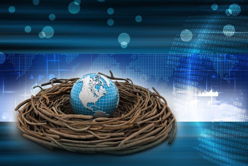 Inversiones internacionales y finanzas globales libre illustration