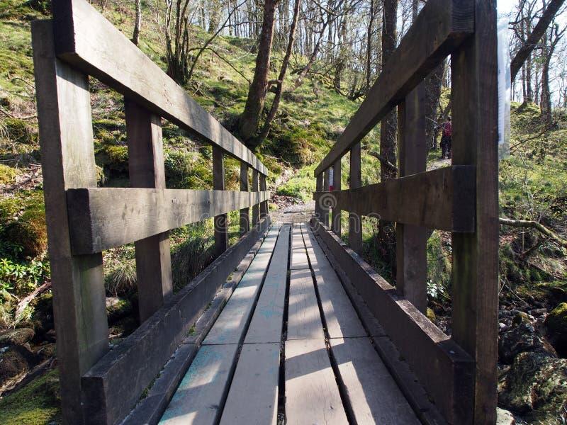 Inversnaid, camino imagen de archivo