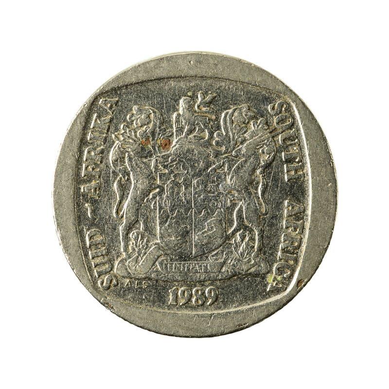 2 inverso della moneta 1989 del Rand sudafricano immagine stock libera da diritti