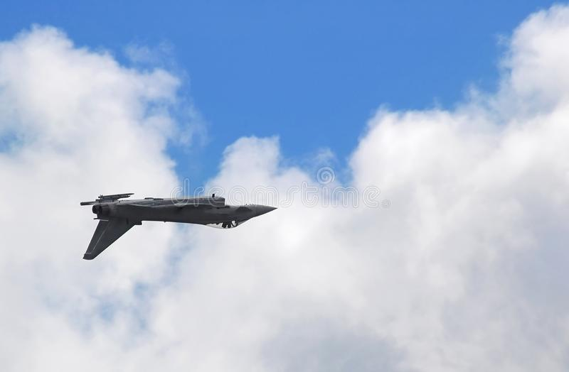 Inverted jet stock photos