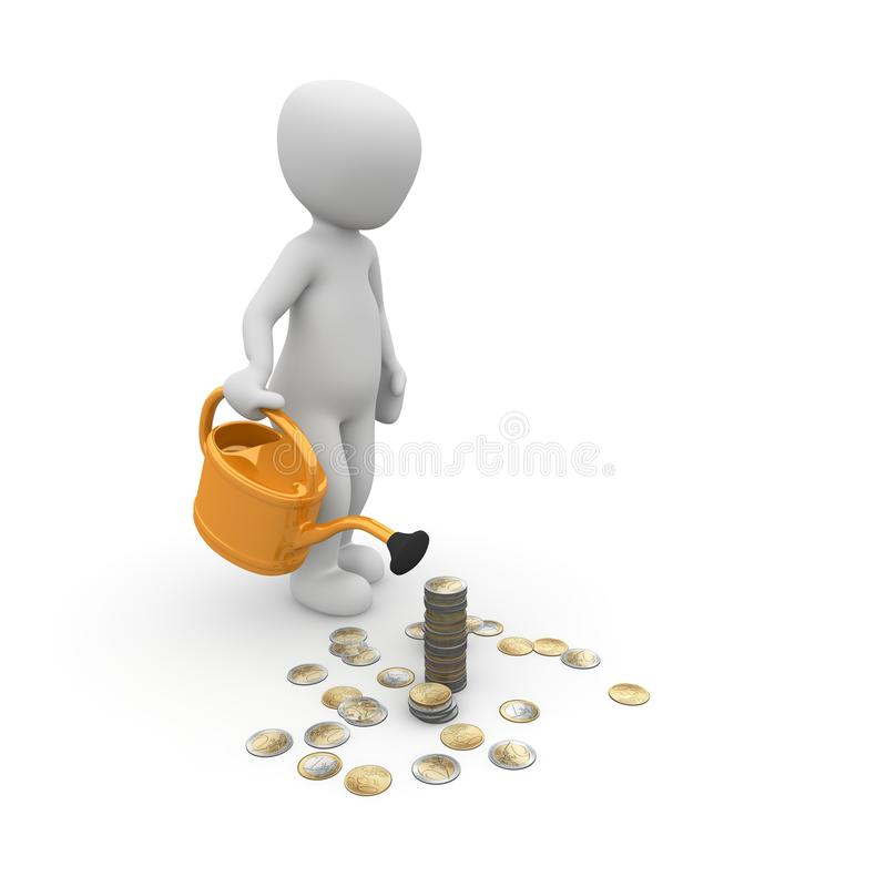 Download Invest stock illustration. Image of invest, financial - 31178449