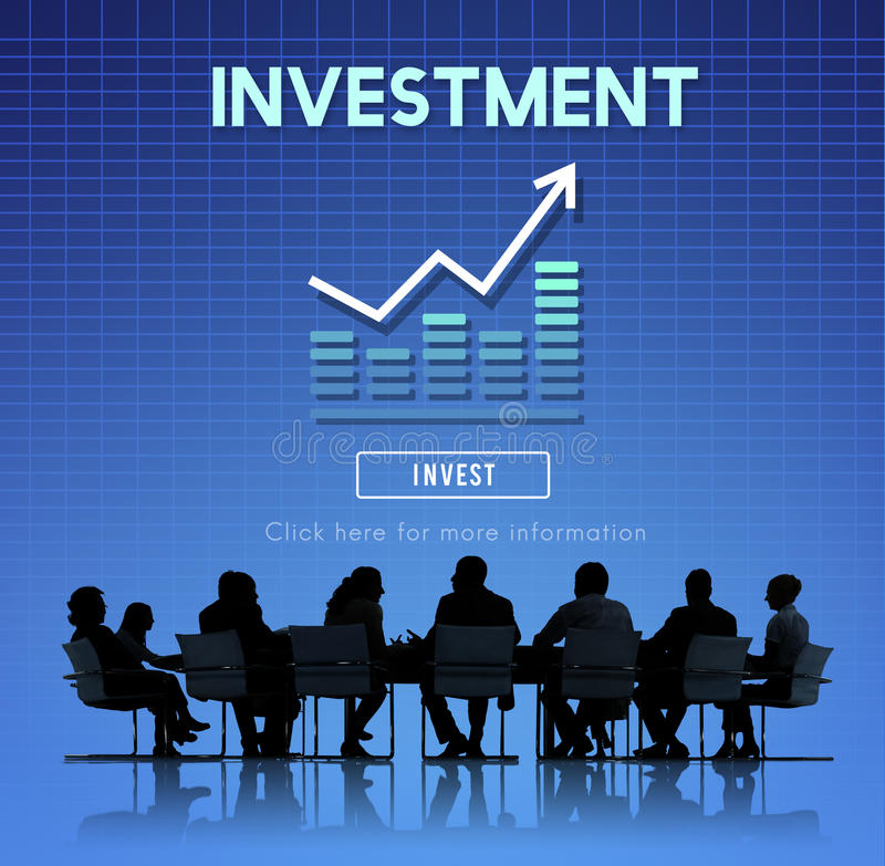 Invest Investment Financial Income Profit Costs Concept. Invest Investment Financial Income Profit Costs stock image