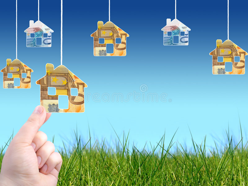 Invest In Real Estate Royalty Free Stock Photo