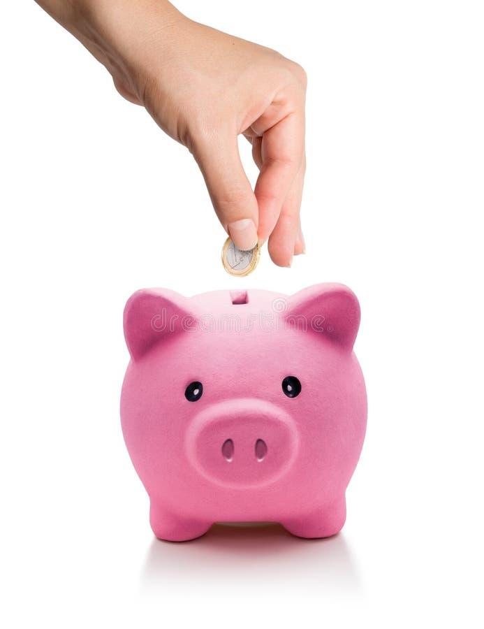 Investeer aan energieconcept - euro in bol stock fotografie
