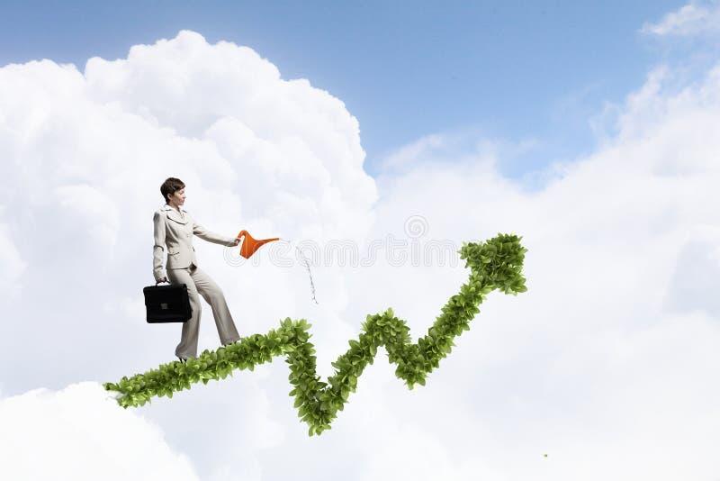Investeer om uw inkomens te verhogen royalty-vrije stock afbeeldingen