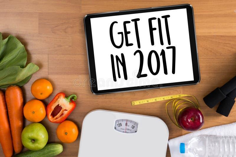 Investera i ditt vård-, bantar det sunda livsstilbegreppet med och arkivfoto
