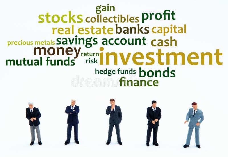 Investering stock illustratie