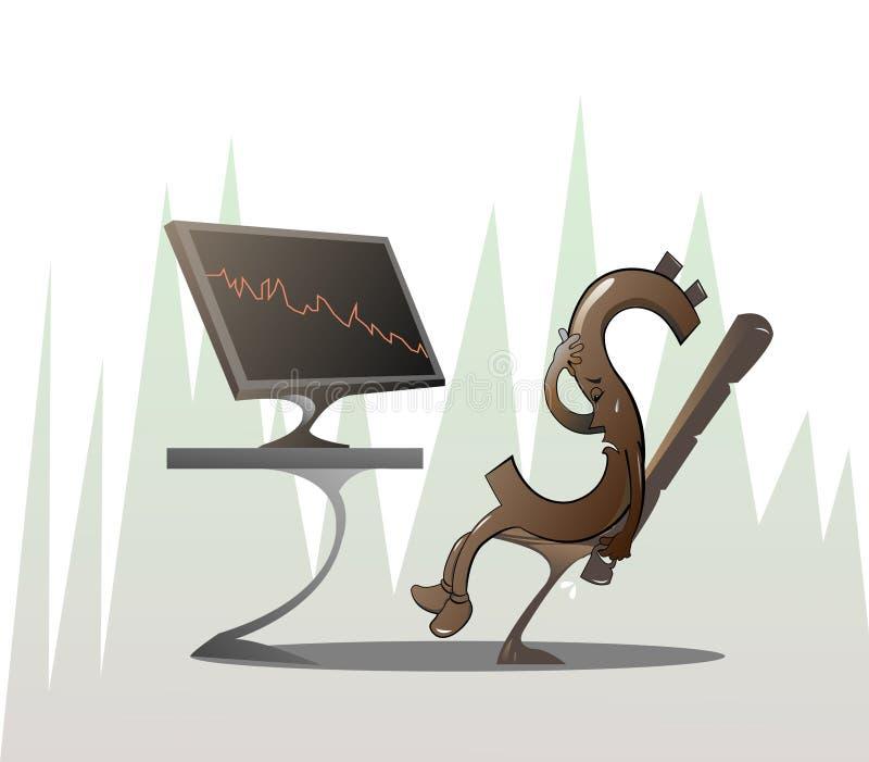 Investering vektor illustrationer