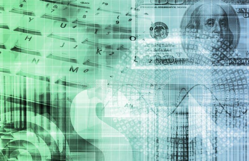 investeringportfölj vektor illustrationer