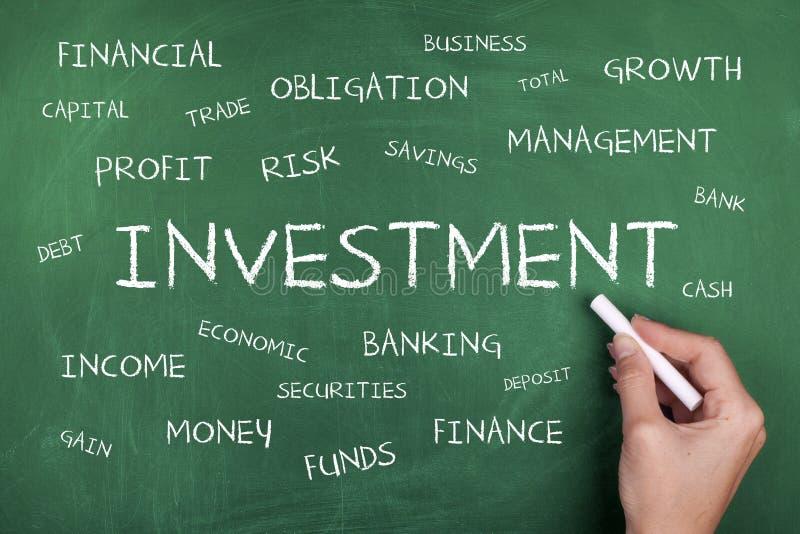 Investeringsword Wolk royalty-vrije stock foto