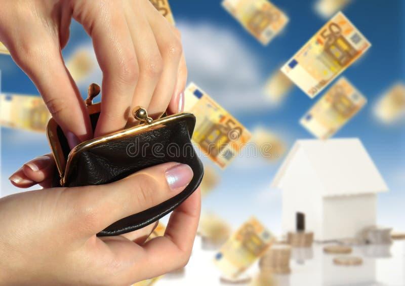 Investieren Sie In Den Immobilien Stockfotografie