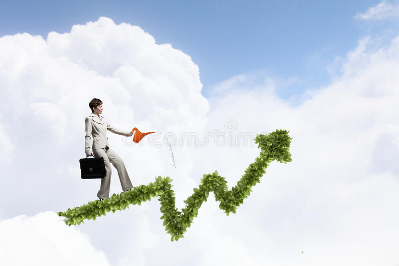 Investieren Sie, um Ihre Einkommen zu erhöhen lizenzfreie stockbilder