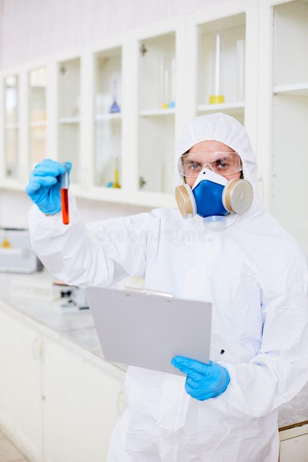 Investigação química fotos de stock