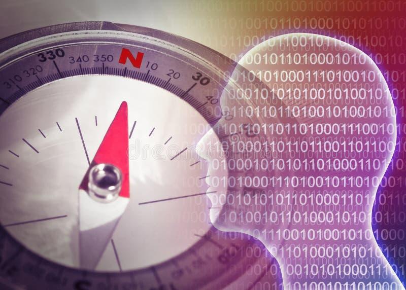 Investigación y desarrollo de nuevas tecnologías - ingenio de la imagen del concepto imagenes de archivo