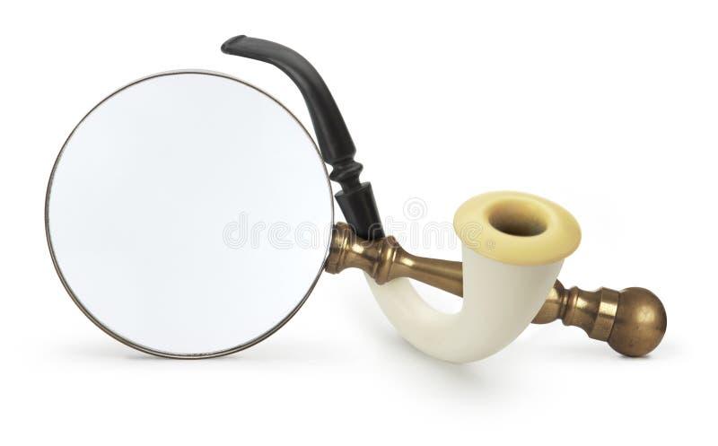 Investigador confidencial ilustração do vetor