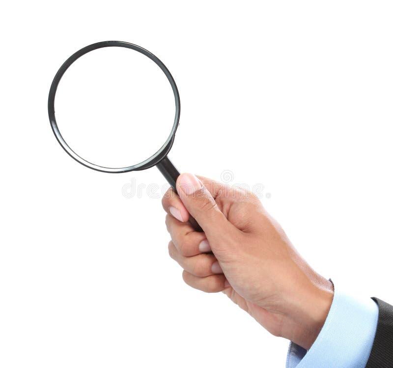 Investigador de trabalho foto de stock